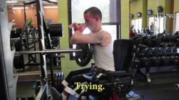 Man With Cerebral Palsy Is Also A Body Builder