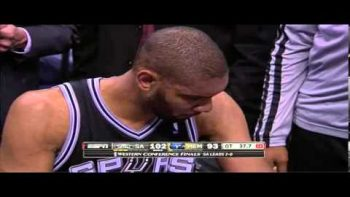 Tim Duncan Realizes He Has Arms