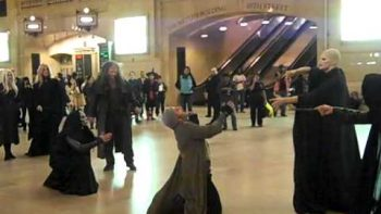 Voldemort Death Eaters In Grand Central Station