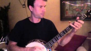 Daft Punk's Get Lucky Banjo Cover