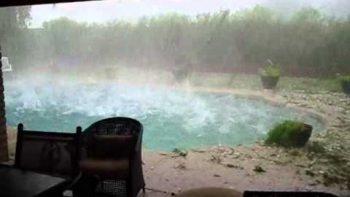 Hail Storm Phoenix Arizona