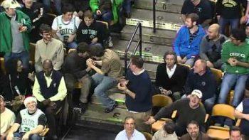 Celtics Fan Dances To Living On A Prayer Bon Jovi