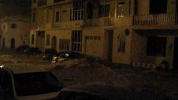 Cars Underwater Malta Floods