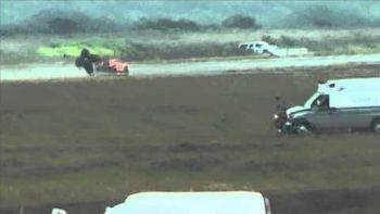 Lamborghini Gallardo Crashes 200 MPH Texas Mile