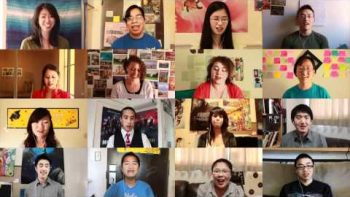 Hey Soul Sister Megacut Online Group Singing