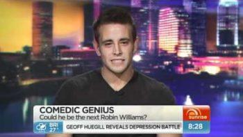 Craig Morgan Comedian Interview On Australia's Weekend Sunrise
