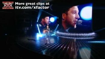 Matt Cardle Britney Spears Baby One More Time – The X Factor Live 10/23/10