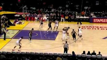 Blake Griffin One Handed Alley Oop Clippers VS Jazz