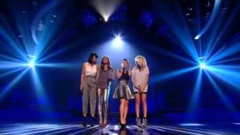 Belle Amie Big Girls Don't Cry – The X Factor Results Show