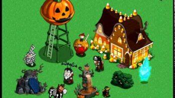 Halloween On Farmville