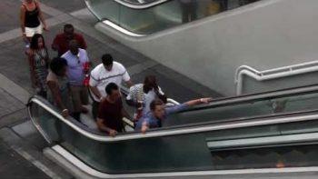 Awkward Escalator Prank