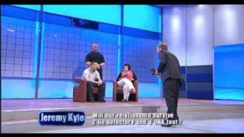 Male Guest Throws Envelope At British Talk Show Host Jeremy Kyle