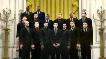 Visit President Obama In NBA2K11