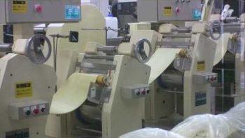 Inside Ramen Noodle Factory In Japan