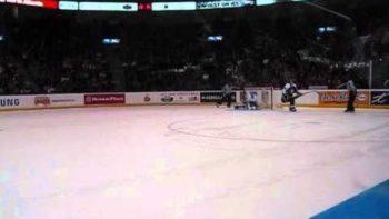 Kaspars Daugavins Hockey Shoot Out Goal 10/3/10