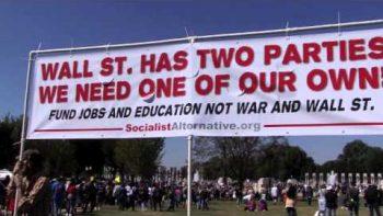 Socialists March On Washington DC