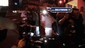 Paris Hilton Runs Over Paparazzi Foot