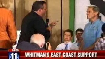 Governor Chris Christie Takes On Heckler
