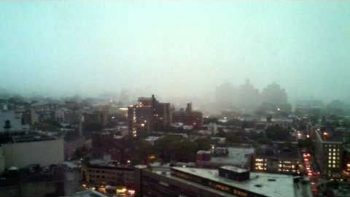 Thunder Storm In Brooklyn 9/16/10