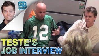 Fake Criminal Pranks Woman Giving Him Job Interview