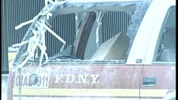 World Trade Center 7 Before Collapse 9/11/01