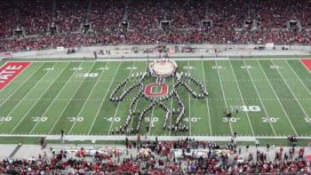 Epic Superhero Halftime Show By Ohio State Marching Band
