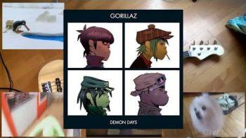 Gorillaz – Feel Good Inc. (Memes Cover)