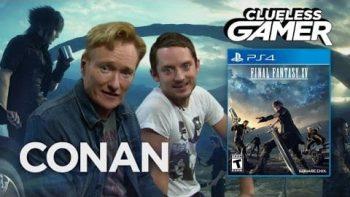 Conan Plays Final Fantasy XV With Elijah Wood