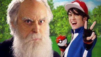Epic Rap Battle: Ash Ketchum vs Charles Darwin
