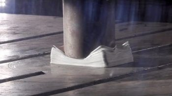Hydraulic Press in Slow Motion