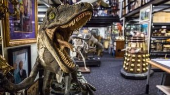 Adam Savage Tours Peter Jackson's Movie Prop Collection
