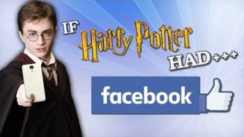 If Harry Potter Characters Had Facebook
