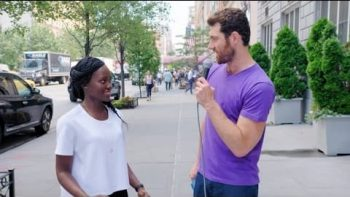 Billy on the Street: Lupita Nyong'o Tries Stand Up