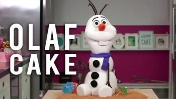 Amazing Cake: Olaf From Frozen