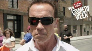 Arnold Schwarzenegger YouTube Comedy Week Commercial