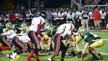 High School Football Player Ninja Flips To Score Touchdown