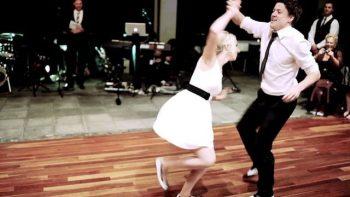 Classy Wedding Dance To Benny Goodman's Sing Sing Sing