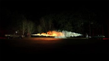 Flamethrower VS Fire Extinguisher – 1000 Frames Per Second