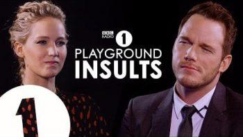 Jennifer Lawrence & Chris Pratt Insult Each Other