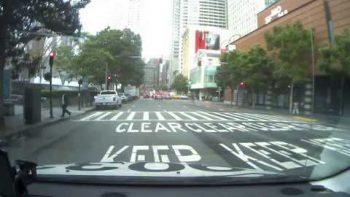 Self-Driving Uber Running Red Light