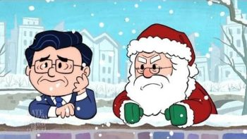 Stephen Colbert Is Charlie Brown In The Late Show's Christmas Special