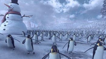 Epic Battle Simulator: 11,000 Penguins vs 4,000 Santa Clauses