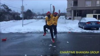 Dance The Snow Shoveler Bhangra!