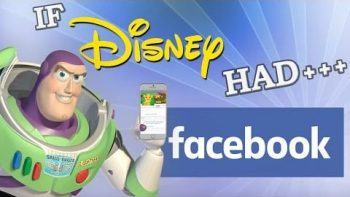 If Disney Characters Had Facebook