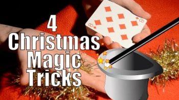 Learn 4 Amazing Christmas Magic Tricks