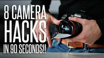 8 Camera Hacks In 90 Seconds