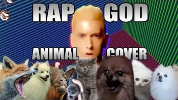 Eminem's 'Rap God' Sung By Animals