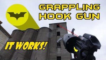 How To Make A Real Batman Grappling Hook Gun