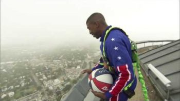 Amazing 583-Foot Basketball Shot