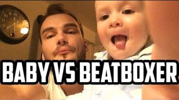 Cute Baby Is Beatboxing With Her Pro Uncle